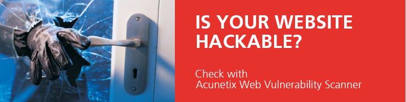 Acunetix Web Vulnerability Scanner | AVFirewalls com