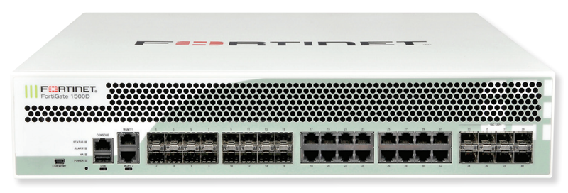 Fortinet FortiGate 1500D-DC