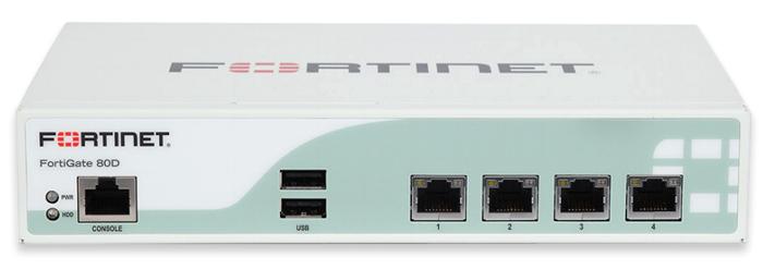 Fortinet FortiGate 80D | AVFirewalls com