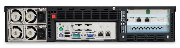Fortinet FortiMail 4000A - Rear View