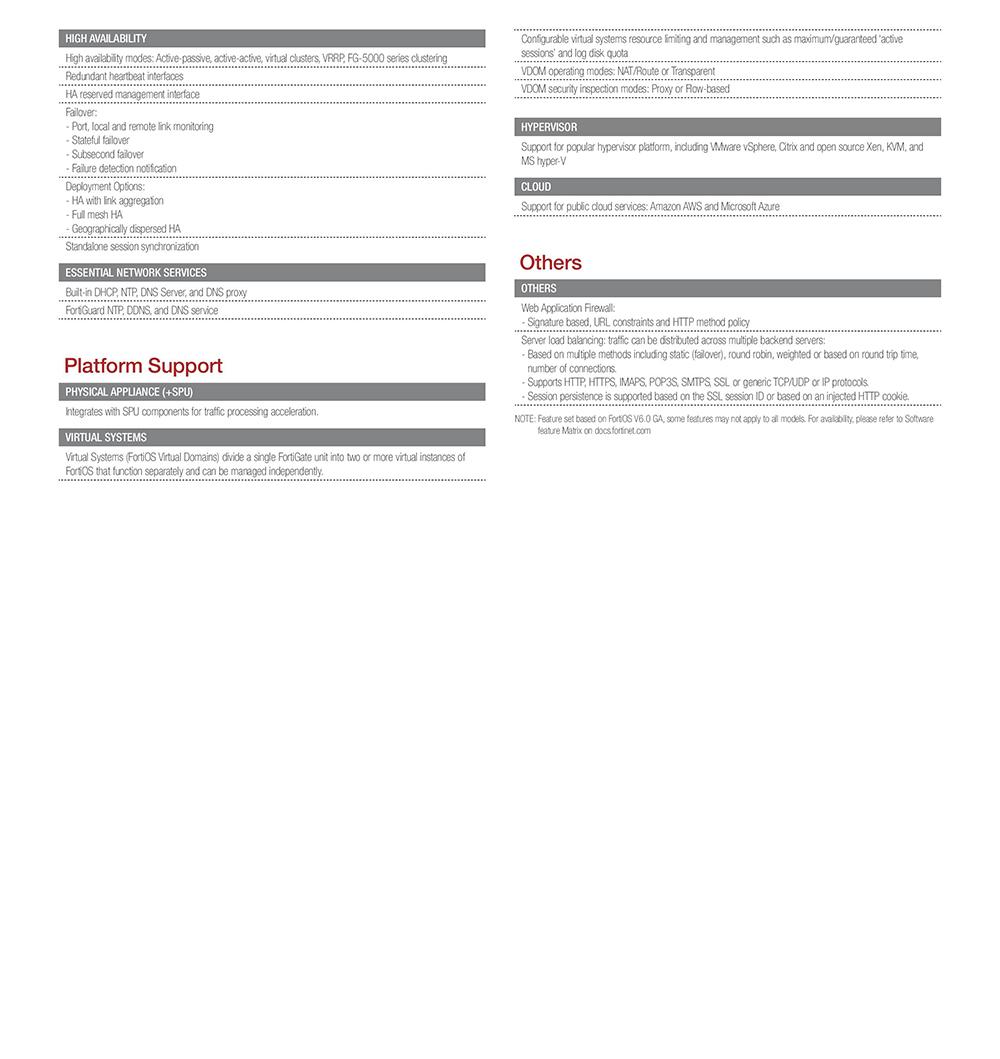 Fortinet FortiOS Software | AVFirewalls com