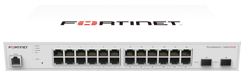 FortiSwitch-124D-POE