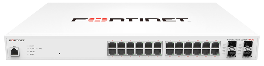 FortiSwitch 224D FPOE