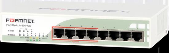 Fortinet FortiSwitch-80-POE   AVFirewalls com