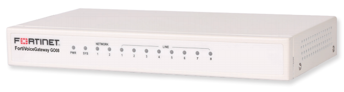 Fortinet FortiVoice Gateway GO08