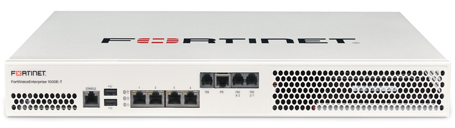 Fortinet FortiVoice Enterprise 1000E-T