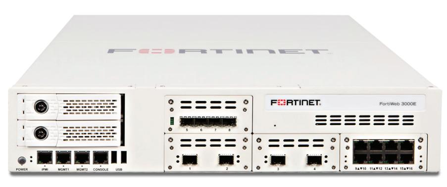 Fortinet FortiWeb 3000E | AVFirewalls com