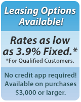 Leasing options available! Click here to request more information.